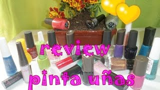 REVIEW PINTAUÑAS ♥♥ ESIKA CYZONE AVON UNIQUE ♥♥MOMPETIT