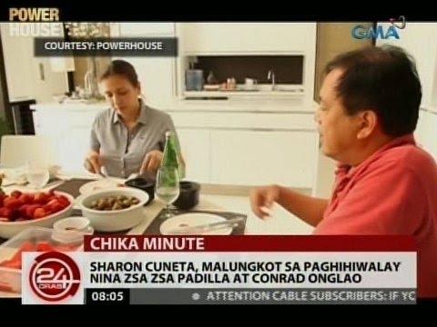 24 Oras: Sharon Cuneta, malungkot sa paghihiwalay nina Zsa Zsa Padilla at Conrad Onglao