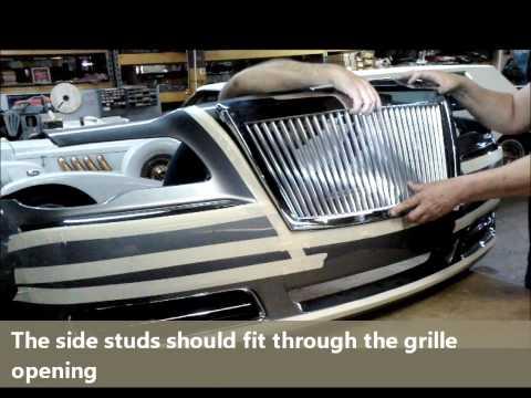E&G Classics. Inc. 2011/12 Chrysler 300 Grille Install