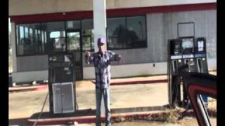 Gas station pop locking