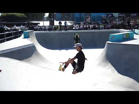 DANNY LEON DEW TOUR LONG BEACH PRO BOWL JAM HEAT ONE