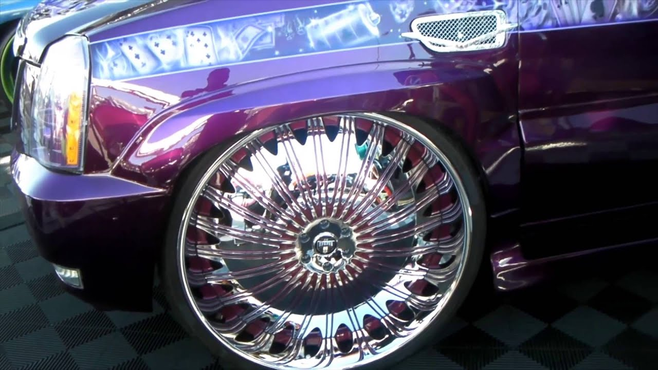 Dubsandtires com 2009 cadillac escalade review 32 inch dub spinners