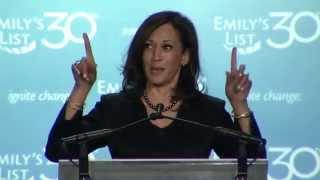 Kamala Harris speaks at EMILY's List 30th Anniversary