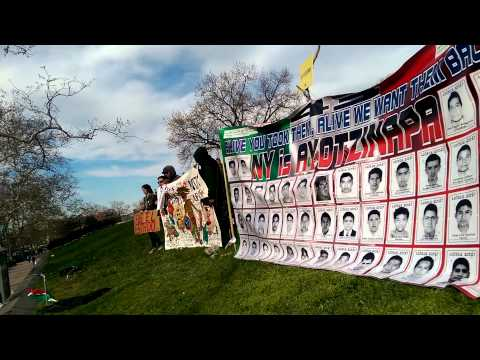 Ayotzinapa en Sunset Park ,Testimonio Antonio T