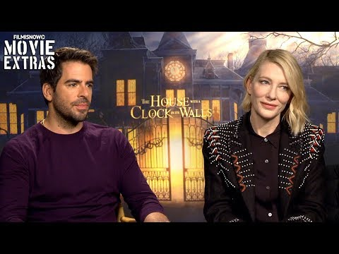 THE HOUSE WITH A CLOCK IN ITS WALLS | Eli Roth & Cate Blanchett Talk About The Movie