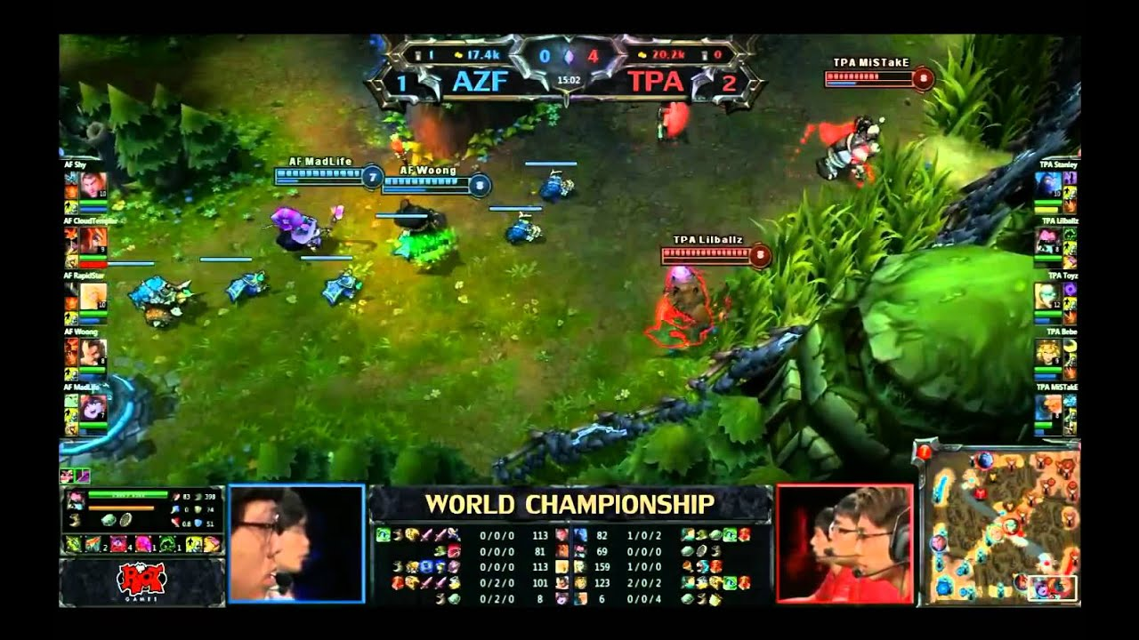 League of Legends World Championship 2012 Final Match and ceremony YouTube