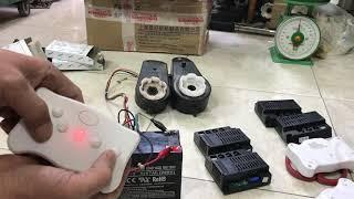 test mạch điều khiển động cơ ô tô điện trẻ em gửi khách