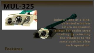 MUL 325 Onare  Heavy Duty Tensioner for Cord Strapping