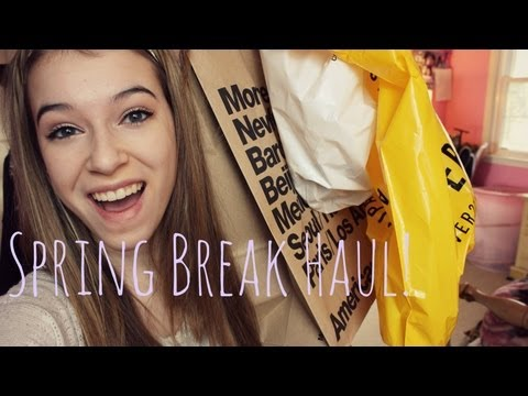 SPRING HAUL: Forever21, American Apparel, Converse and more!