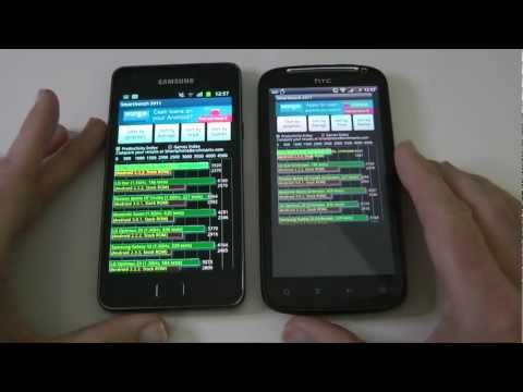 Samsung Galaxy S2 vs HTC Sensation Physical & Performance