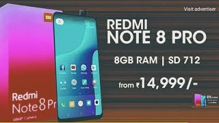 Redmi Note 8 Pro   Full View Display with 32MP Front Camera  fire  fire  fire    Redmi Note 8 Pro  7