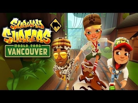 Subway Surfers: Vancouver - Samsung Galaxy S3 Gameplay
