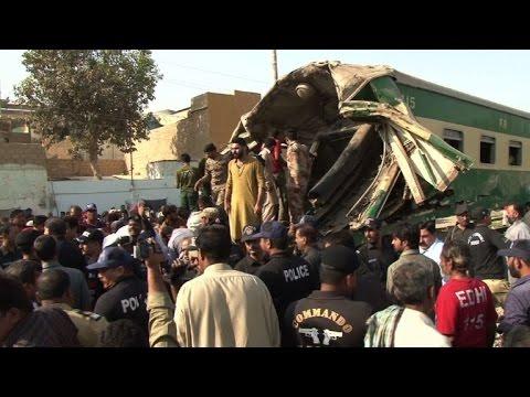 Pakistan: un accident de train fait au moins 17 morts