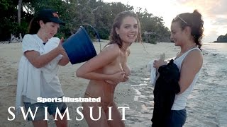 Kate Upton Goes Topless, Shakes Her Hips In Fun Fiji Shoot | Outtakes | Sports Illustrated Swimsuit