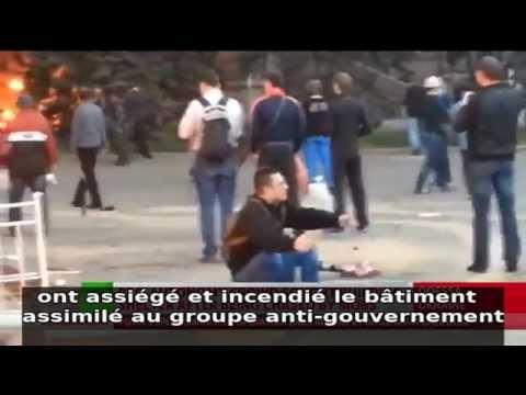 Ukraine massacre à Odessa - Les témoignages le prévoyaient