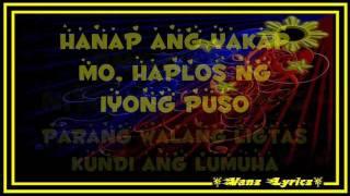 Bryan Termulo - Dadalhin Lyrics (Walang Hanggan ThemeSong)