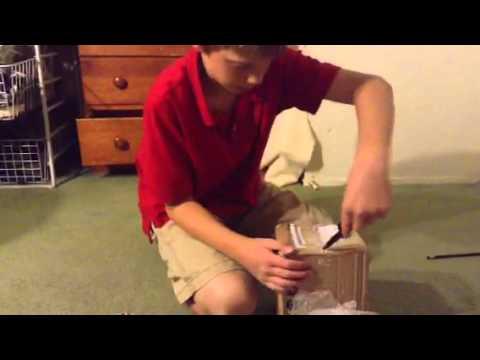 Unboxing 11x11 Rubix cube