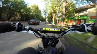 Питбайк Pitster 125, без правил. no rules ride Moscow