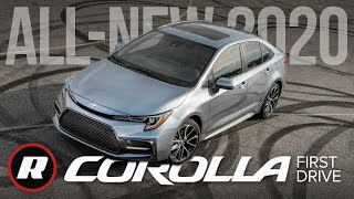 2020 Corolla First Drive: Toyota's No.1 sedan gets better in almost every way | Review