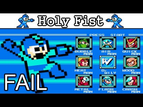 Let's Fail Mega Man 3 part 1/1 [NES]