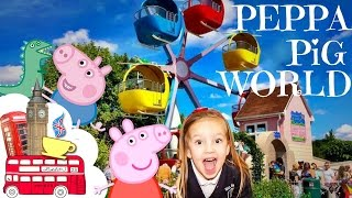 Peppa Pig World ALL RIDES AND ATTRACTIONS at Paultons Park