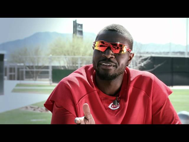 Brandon Phillips, Cincinnati Reds &amp; his Wilson Baseball Glove
