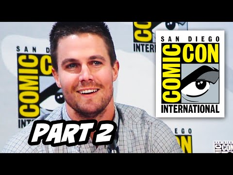 Arrow Season 3 Comic Con 2014 Panel - Part 2