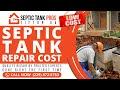Septic Tank Repair Cost Chula GA | Call (229) 472-5753