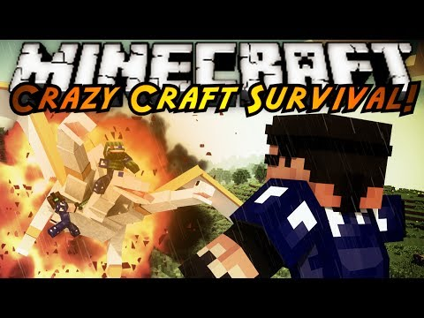 Minecraft Crazy Craft : THE FINAL BATTLE Season FINALE