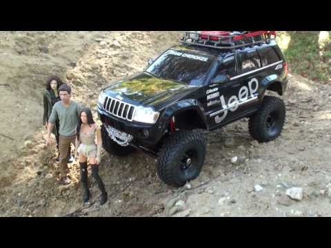 Jeep WK Grand Cherokee SCX10 - Episode 1