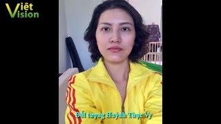 Hoa hậu phản động Huỳnh Thục Vy sắp bị công an sờ gáy