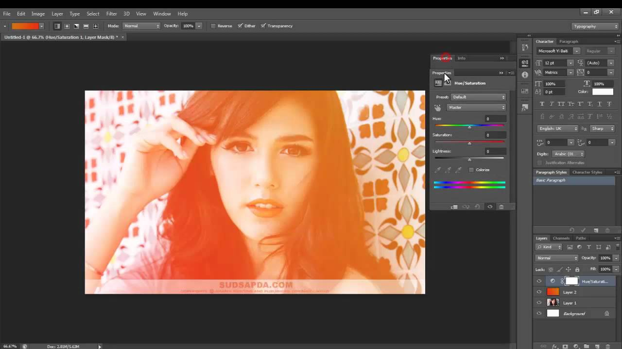 how to make a gradient on photoshop cs6