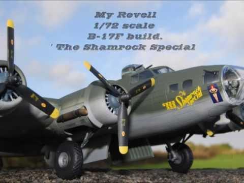 Revell 1/72 B-17F build