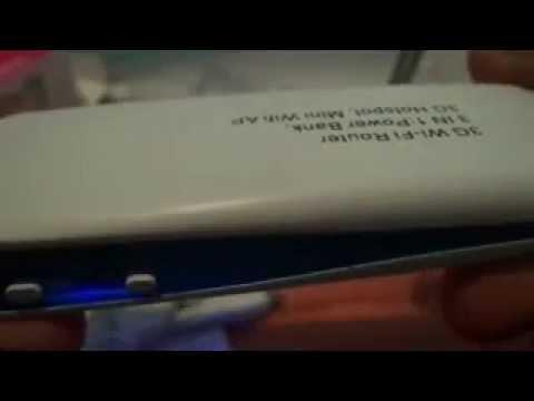Portable Mini Wireless 3G Router Hotspot WIFI AP USB Power Bank 1800mAh  -