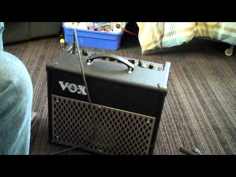VOX DA15 modeling guitar amplifier MP4 practice digital solid...