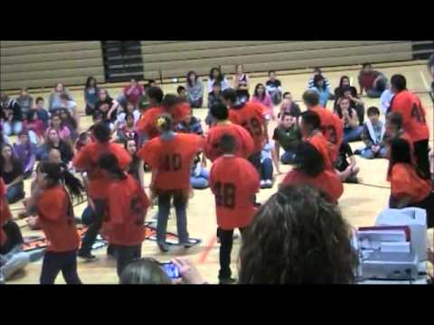 Jerome Middle School International Dance Day 2012 6th Grade