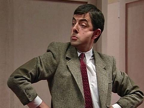 Mr Bean reclaims his trousers