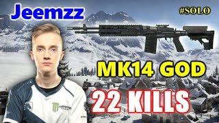 Team Liquid Jeemzz - 22 KILLS - MK14 GOD - VIKENDI #SOLO