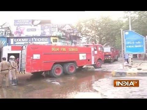 Fire Engulfs Bengali Market in