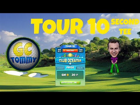 Golf Clash tips, Hole 3 - Par 3, Gokasho Bay - Club Oceania, Tour 10 - GUIDE/TUTORIAL