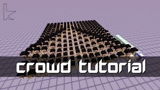 Tutorial - Create Large, Lively Crowds! | Minecraft