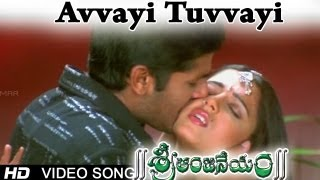 Sri Anjaneyam । Avvayi Tuvvayi Video Song   Nithin, Charmi