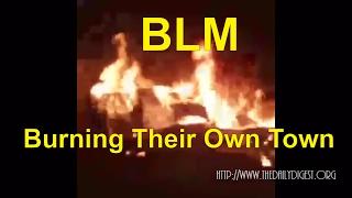 Raw: Milwaukee Morons (BLM) Destroys Their Own Town