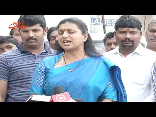 Actress Roja Speech @ MAA 2015 Elections Voting