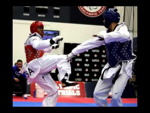 Olympic Trials Taekwondo Finals in Colorado Springs, CO   March 2012