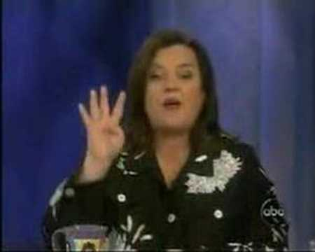 Rosie O'Donnell on Building 7 on The View