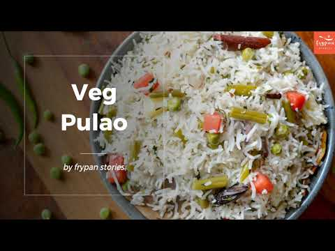 Veg Pulao Recipe | Vegetable Pulao Recipe | Veg Rice Recipes Dinner | Easy Lunch Recipes Indian