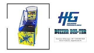 Newest Luxury Arcade Redemption Buzzer Bee-Ter Basketball Game Machine For Sale