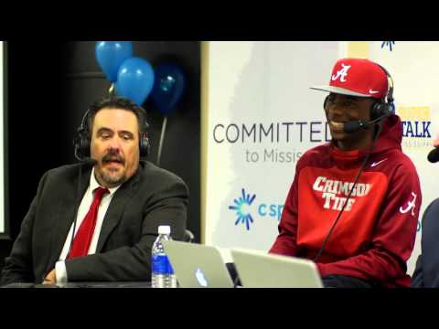 Germantown's Nigel Knott on H2H sports radio at C Spire National Signing Day event