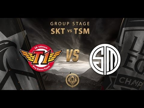 [12-05-2017] SKT vs TSM [MSI 2017] Group Stage Day 2
